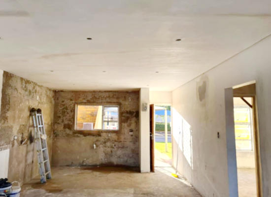 Home renovations (before) by residential construction company, Schoeman Trio Builders - Mossel Bay