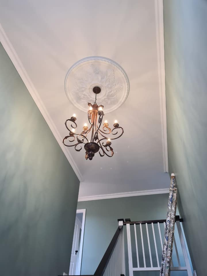Interior painting and roof done by Kalahari Paint Services - a division of Schoeman Trio Builders - Mossel Bay