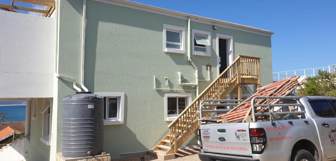 Double storey home refurbishing - Schoeman Trio, Mossel Bay